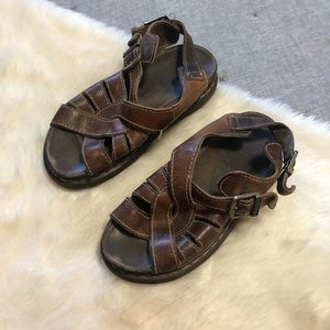 Doc. Martens leather fishermen walking sandals 42